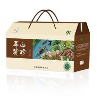 """中粮—山萃""""萃餮山珍""""菌菇礼盒"""