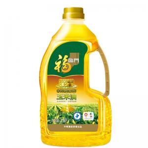 中粮福临门黄金产地玉米胚芽油1.8L