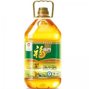 福临门黄金产地压榨一级玉米油