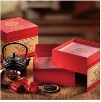 """中粮""""福喜临门""""大红袍茶礼盒"""