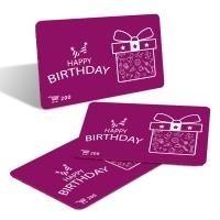 200元生日蛋糕卡
