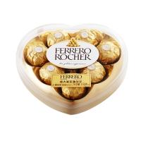 意大利进口 费列罗榛果 威化巧克力心形装巧克力