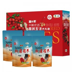 中粮粮小买优选新疆大枣礼盒